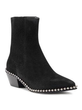 Zadig&Voltaire Zadig&Voltaire Kotníková obuv s elastickým prvkem Tyler WJAK1704F Černá
