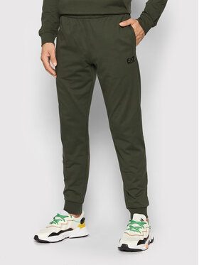 EA7 Emporio Armani EA7 Emporio Armani Spodnie dresowe 8NPP53 PJ05Z 1852 Zielony Slim Fit