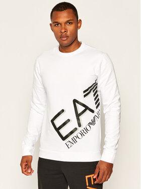 EA7 Emporio Armani EA7 Emporio Armani Bluza 6HPM27 PJ8LZ 1100 Biały Regular Fit