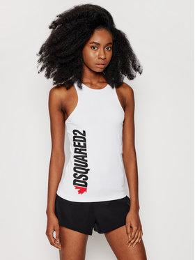 Dsquared2 Underwear Dsquared2 Underwear Top D8D203480 Weiß Slim Fit