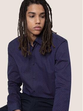 Hugo Hugo Marškiniai Ermo 50438079 Tamsiai mėlyna Slim Fit