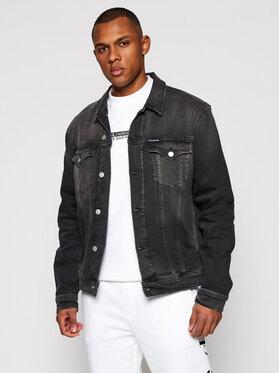 Calvin Klein Jeans Calvin Klein Jeans Kurtka jeansowa J30J317247 Szary Slim Fit