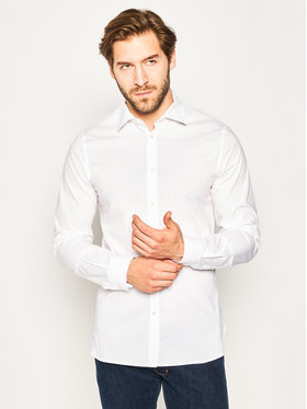 Trussardi Trussardi Marškiniai 52C00214 Balta Slim Fit