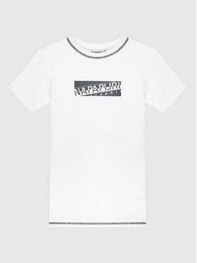 Napapijri Napapijri Póló Sob NP0A4FP7 S Fehér Regular Fit