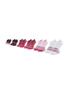 Under Armour Under Armour Комплект 6 чифта къси чорапи дамски Ua Essential 1332981-678 Цветен