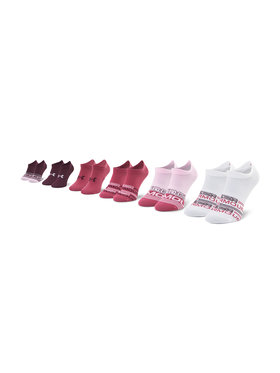 Under Armour Under Armour Lot de 6 paires de chaussettes basses femme Ua Essential 1332981-678 Multicolore
