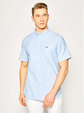Lacoste Lacoste Koszula CH4975 Niebieski Regular Fit