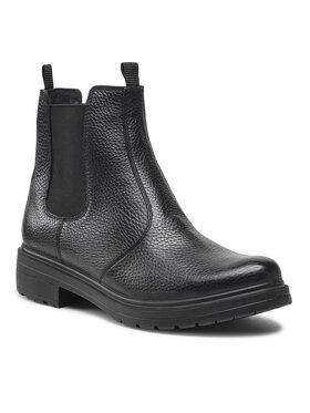 Wojas Wojas Členková obuv s elastickým prvkom 55089-51 Čierna