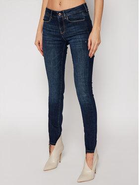 Guess Guess Ultra Skinny Fit džínsy Jewel W1RA03 D4AK1 Tmavomodrá Ultra Skinny Fit