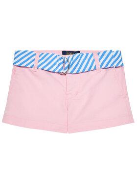 Polo Ralph Lauren Polo Ralph Lauren Szövet rövidnadrág Solid Chino 311834890002 Rózsaszín Regular Fit