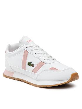 Lacoste Lacoste Sneakersy Partner 0121 1 Suj 7-42SUJ00011Y9 Biela