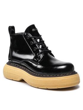 Carinii Carinii Členková obuv B7630 Čierna
