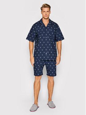 Polo Ralph Lauren Polo Ralph Lauren Pižama Sst 714830268006 Tamsiai mėlyna