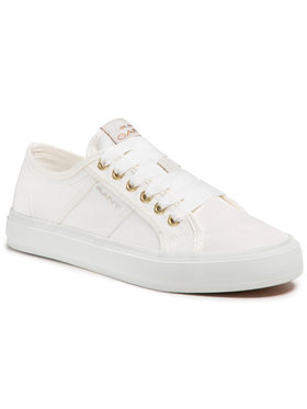 Gant Gant Sneakers aus Stoff Pinestreet 22539575 Weiß