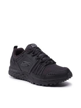 Skechers Skechers Παπούτσια πεζοπορίας Escape Plan 51591/BBK Μαύρο