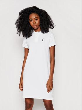 Polo Ralph Lauren Polo Ralph Lauren Kleid für den Alltag Polo Shirt Shop 211799490017 Weiß Regular Fit