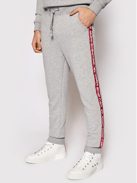 Alpha Industries Alpha Industries Jogger nohavice Rbf Tape 196317 Sivá Regular Fit