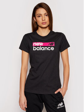 New Balance New Balance T-shirt WT03806 Nero Athletic Fit