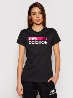 New Balance New Balance Tricou WT03806 Negru Athletic Fit