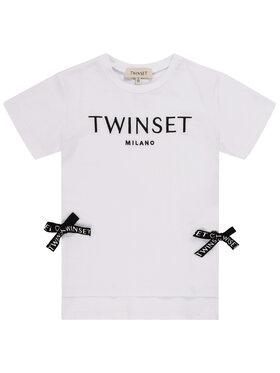 TWINSET TWINSET T-Shirt 201GB2370 M Λευκό Regular Fit
