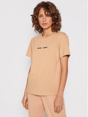 Samsøe Samsøe Samsøe Samsøe T-Shirt Vigdis F00012114 Rosa Regular Fit