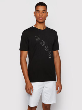 Boss Boss Marškinėliai Teeonic 50447948 Juoda Regular Fit