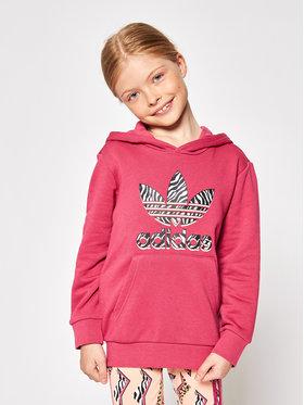 adidas adidas Set Sweatshirt und Leggings Graphic Print GN2211 Rosa Regular Fit