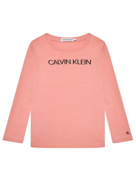 Calvin Klein Jeans Calvin Klein Jeans Majica Institutional Logo IG0IG01014 Ružičasta Regular Fit