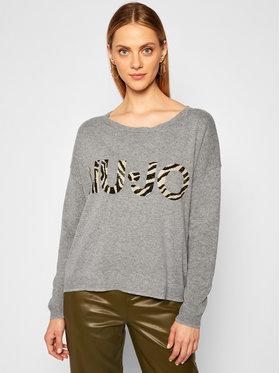 Liu Jo Liu Jo Sweater MF0085 MA14G Szürke Regular Fit