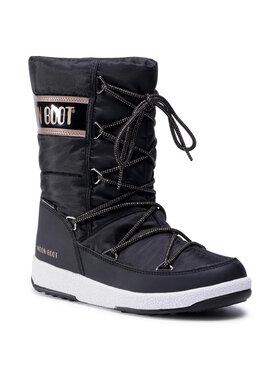 Moon Boot Moon Boot Sněhule Jr G.Quilted Wp 34051400005 D Černá