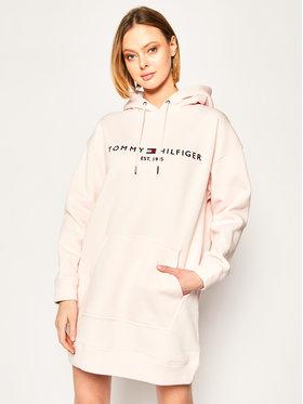 TOMMY HILFIGER TOMMY HILFIGER Úpletové šaty Essential WW0WW27039 Růžová Relaxed Fit