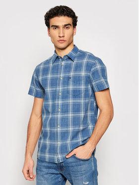 Wrangler Wrangler Marškiniai 1 Pkt Shirt W5J6OEX1E Tamsiai mėlyna Regular Fit