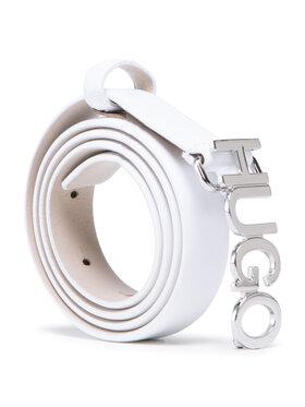 Hugo Hugo Pasek Damski Zula Belt 2 Cm 50441986 10197802 01 Biały