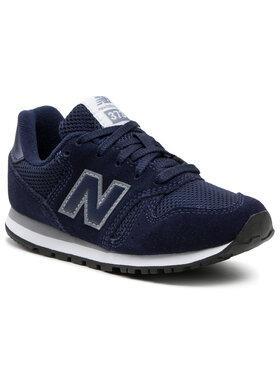 New Balance New Balance Sneakersy KJ373NUY Granatowy