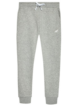 4F 4F Pantalon jogging JSPDD001 Gris Regular Fit