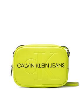 Calvin Klein Jeans Calvin Klein Jeans Дамска чанта Sculpted Camera Bag Mono K60K608373 Зелен