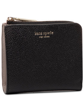 Kate Spade Kate Spade Portefeuille femme petit format Margaux Small Bifold Wallet PWRU7160 Noir
