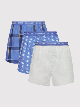 Calvin Klein Underwear Calvin Klein Underwear Sada 3 kusů boxerek 000NB3000A Barevná
