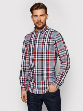 Tommy Hilfiger Tommy Hilfiger Chemise Midscale Check MW0MW17570 Rouge Regular Fit