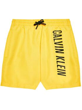 Calvin Klein Swimwear Calvin Klein Swimwear Kupaće gaće i hlače B70B700299 Žuta Regular Fit