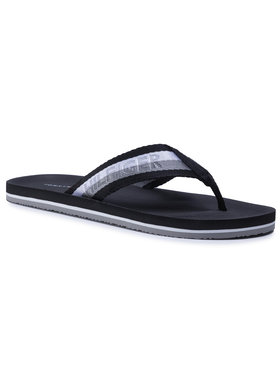 TOMMY HILFIGER TOMMY HILFIGER Джапанки Th Comfort Beach Sandal FM0FM02965 Черен