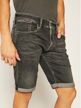 Tommy Jeans Tommy Jeans Jeansshorts Ronnie DM0DM08289 Schwarz Relaxed Fit
