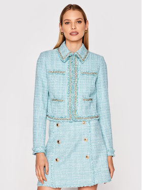 Marciano Guess Marciano Guess Жакет Tweed 1GG201 9543Z Голубий Slim Fit