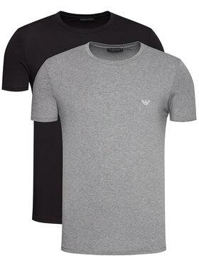 Emporio Armani Underwear Emporio Armani Underwear Komplet 2 t-shirtów 111267 0A720 8649 Kolorowy Regular Fit