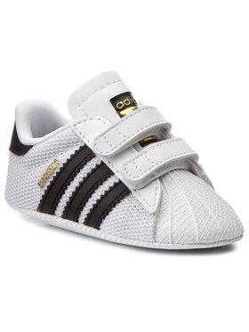 adidas adidas Обувки Superstar Crib S79916 Бял
