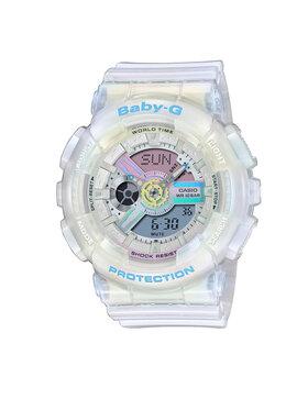 Baby-G Baby-G Zegarek BA-110PL-7A2ER Biały