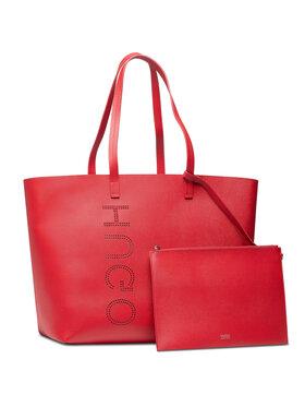 Hugo Hugo Дамска чанта Chelsea Shopper 50456741 10236810 01 Червен