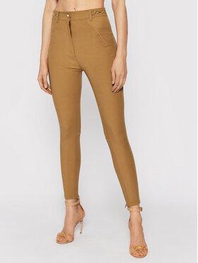 Elisabetta Franchi Elisabetta Franchi Spodnie materiałowe PA-011-16E2-V360 Brązowy Slim Fit