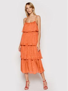Femi Stories Femi Stories Φόρεμα καλοκαιρινό Marina Πορτοκαλί Regular Fit