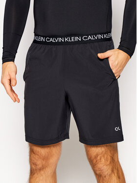 Calvin Klein Performance Calvin Klein Performance Sportovní kraťasy 00GMF0S813 Černá Regular Fit